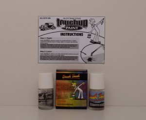 Automotive Touch Up Paint Materials For Commodore