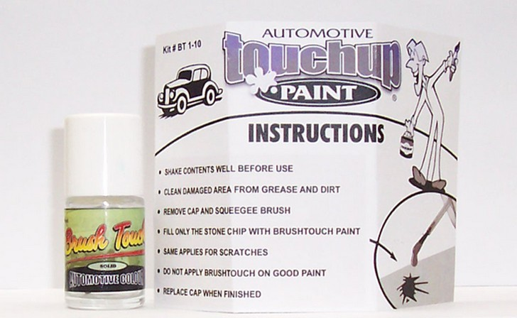 Non Metallic Color Touch Up Paint