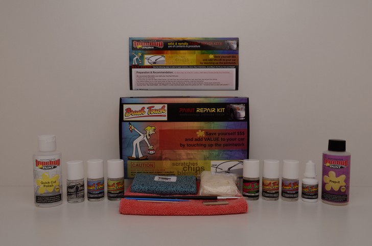 Quick-Cut & Prep-it Tri-Coat Touch Up Paint Complete Auto Repair Kit