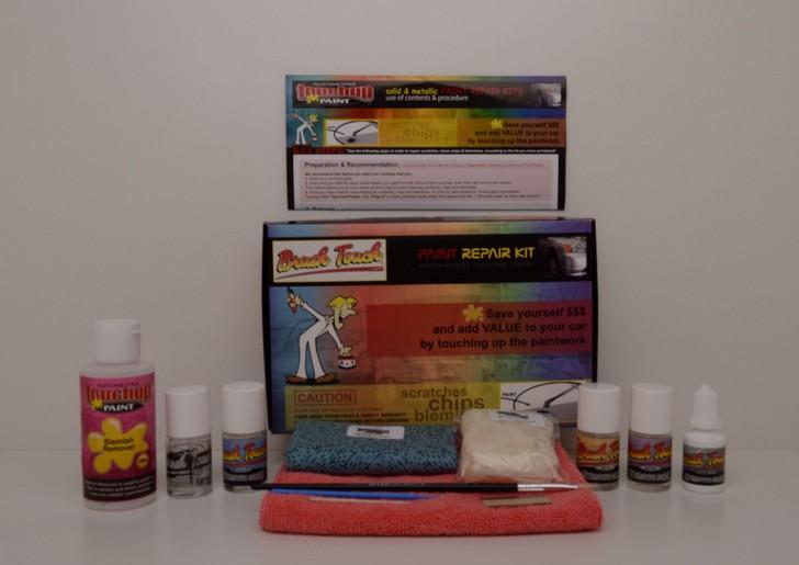 Blemish-6-Bottle Touch Up Metallic Paint Kit