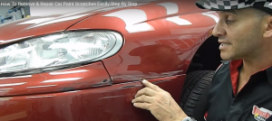 Watch The Car Scratch, Chip & Blemish Colour Repair Demonstration Including Scratch Repair Cars