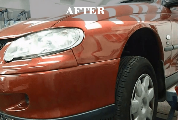 Car Paint Repair After